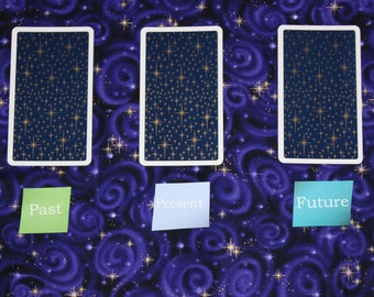 Tarot Reading 3 Card Spread Tarot Reading  Past, Present, & Future  General Reading or Ask a question! Typed and Emailed