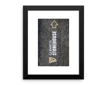 Guinness Storehouse Framed poster
