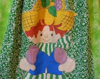 Vintage Strawberry Shortcake Long Skirt Huckleberry Pie