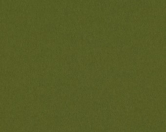 Olive - 100% Pure Wool Felt