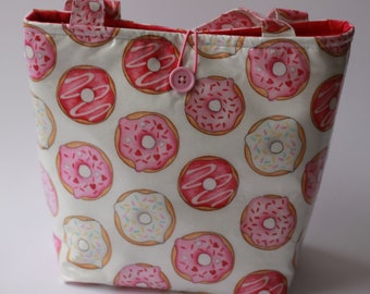 Insulated Lunch Bag - Delicious Donuts