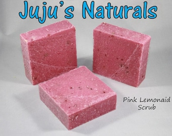 Pink Lemonade Scrub - Handmade Soap