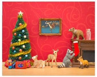 Christmas decor art print: Cozy Christmas