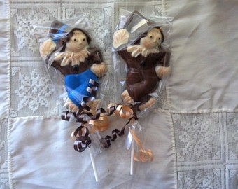 Scarecrow Lollipops great for fall