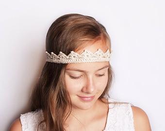 Couronne de Bachelorette, mariée diadème, cadeaux tribu mariée, Couronne Champagne fête nuptiale, couronne or Bridal Shower, partie de poule Couronne