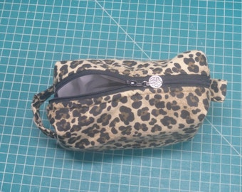 Small Travel Pouch, Zip Pouch, Dopp Kit, Toiletry Bag, Jungle Bag, Moisture Proof Ditty Bag, Toiletry Kit, Pencil Case, Cosmetics Pouch