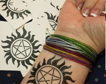 Supernatural-inspired Anti-Possession tattoos!