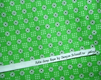 Katie Jump Rope Green Bandana Denyse Schmidt FQ or more