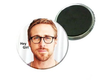 Magnet - Ryan Gosling with glasses - Hey Girl