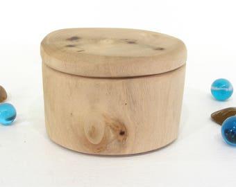 Oregon Myrtlewood Box, tree branch, guitar pick box, presentation box, ring bearer box, earring box, small jewelry box, cuff links box