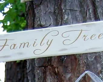Family Tree sign for Weddings or Family Reunions