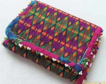 Afghanistan: Vintage Embroidered Pashtun Wallet or Pouch, Item E51