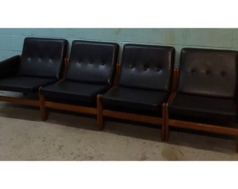 Versatile Floating Mid Century Couch Living Room Set