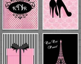 Paris Decor, Teen Room Decor, Fashion Print, Fashion Art, Girls Room, Girls Fashion, Girls Room Decor, Bedroom Art, French Art
