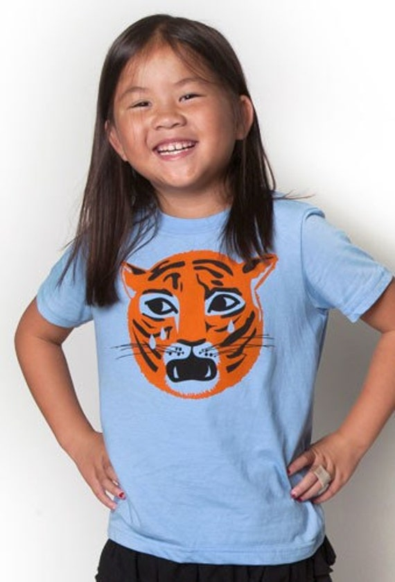 Kids Crying Tiger Tee