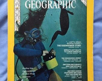 National Geographic Magazine: July 1969