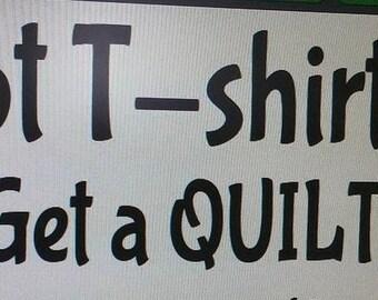 Got t-shirts? Get a Quilt - custom made t-shirt quilt - sports-college-running-concert-vacation-music shirts