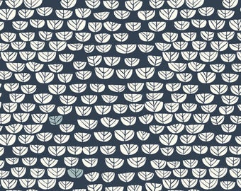 Sproutlet Dusk - Hidden Garden - Birch Fabrics - Organic Cotton - Poplin by the Yard