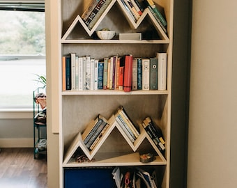 Mountain Bookshelf