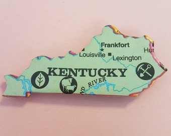 Kentucky Puzzle Piece Magnet