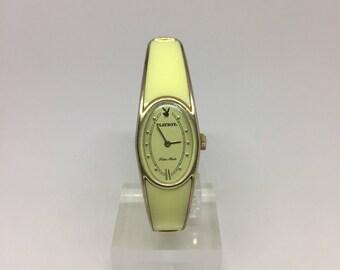 Playboy Yellow Bangle Women's Wrist Watch