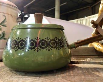 Vintage Green Pot