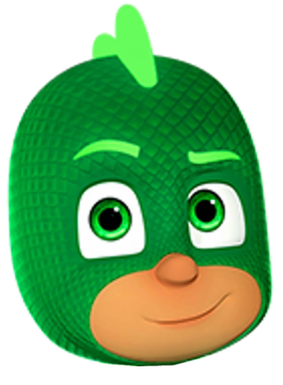Gecko Hero Mask Cookie Cutter from KrysKut on Etsy Studio