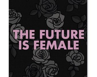 DAT MAT - The Future Is Female Yoga Mat - Cool Custom Yoga Mat
