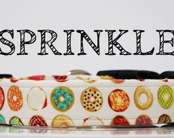 Sprinkle - Donut Inspired Handmade Collar