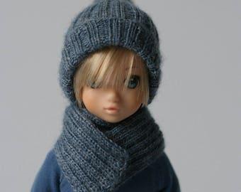 New colors! Hand-knitted hats for Ruruko, Momoko or Barbie