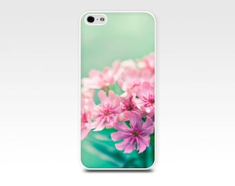 floral iphone case 5s botanical nature 6 iphone case 4 4s 5s fine art iphone case pink teal aqua flower shabby dreamy nature case iphone 6