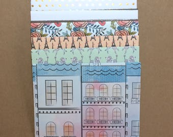 6 - A2  Envelopes Made With Assorted Patterened Papers E11