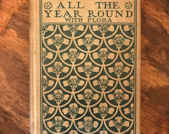 "Vintage E.F. Andrews's ""Botany All the Year Round With Flora"" Textbook Copyright 1903 