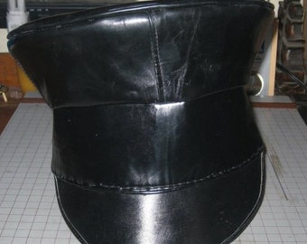 Civil War Rubber Civilian Wheel Hat