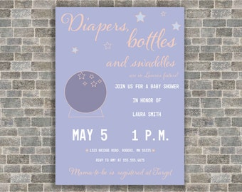 Gender Neutral Baby Shower Invitation- Baby is in your future