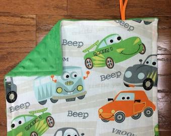 Beep Beep Vroom Pacifier Blanket
