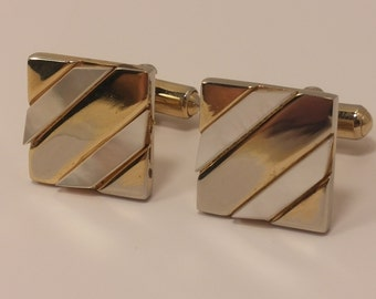 Vintage Bretton Fifth Avenue Cufflinks in Original box - Wedding, Men's, Groomsmen Gift, Father's Day, Dad