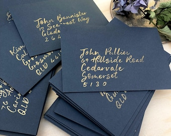 Envelope calligraphy, Wedding invitation addressing, informal hand lettering, wedding invitations, custom addressing, cnbcalligraphy,