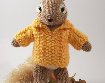 Chipmunk Knitting Pattern