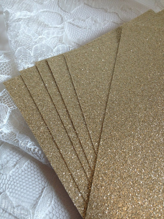 Glitter cardstock 5x7 for diy wedding or quince invitations like this item stopboris Choice Image
