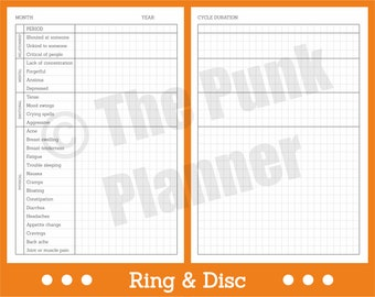 W007-RD PMS Symptom Tracker - Monitor