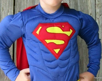 Muscle Superman Inspired Costume