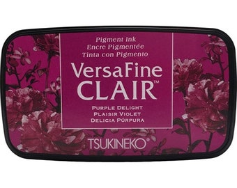 Tsukineko VersaFine Clair PURPLE DELIGHT Ink Pad