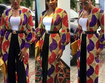 Madu Cover Dress,African print Coverup,African clothing,African dress,Handmade African dress,Kaftan Dress,Gown,Coverup Dress
