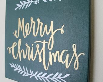Merry Christmas Canvas