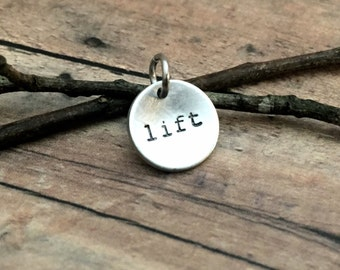 Weightlifting Jewelry-Lift Dish Charm
