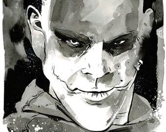Mad Max: Fury Road - Slit original ink drawing