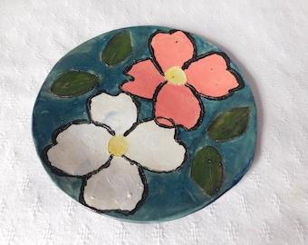 Dogwood Flower Ceramic