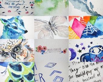 Adventure Bundle - Artist's choice print bundle