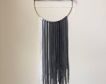 Small Mixed Fiber Modern Wall Hanging - Lindsay Weir